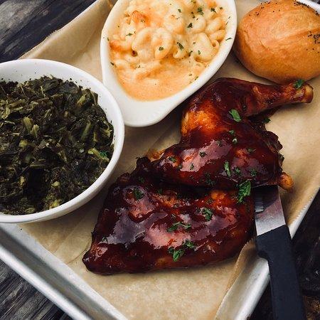 Weaverville, NC: BBQ Chicken Special