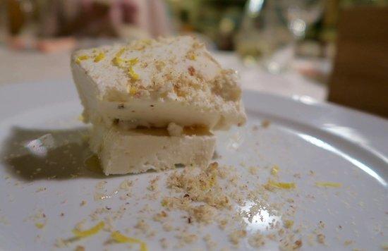 Zminj, Croatia: Ban Ki Moon dessert