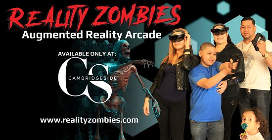 Cambridge, MA: Experience cutting edge augmented reality technology at the all new Reality Zombies