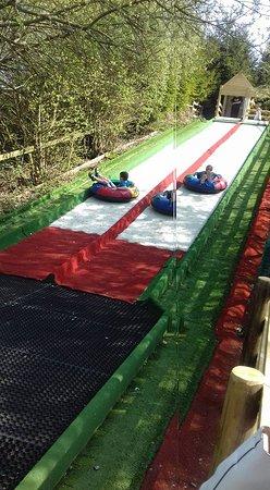 Knockhatch Adventure Park: the slide