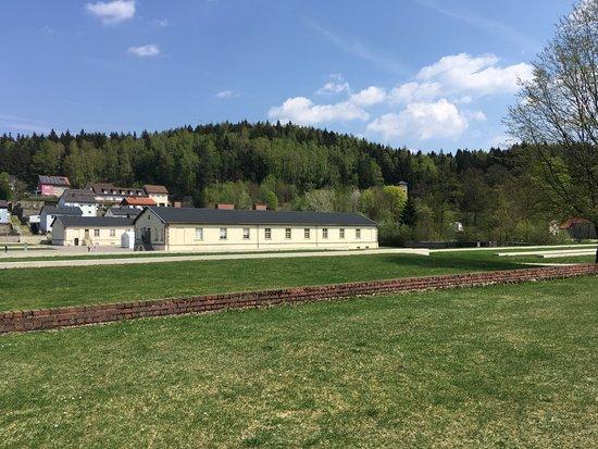 Flossenburg, Tyskland: budovy - dnes expozice