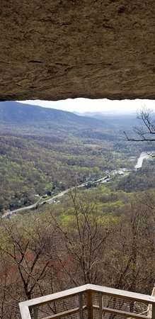 Chimney Rock, Carolina del Norte: View from the Opera Box