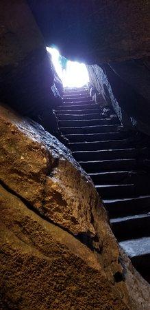 Chimney Rock, Carolina del Norte: Gneiss Cave