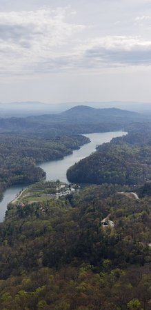 Chimney Rock, Carolina del Norte: Lake Lure (man-made)