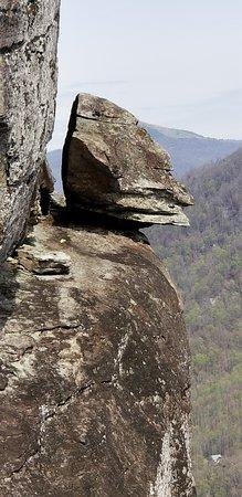 Chimney Rock, Carolina del Norte: Devil's Head formation