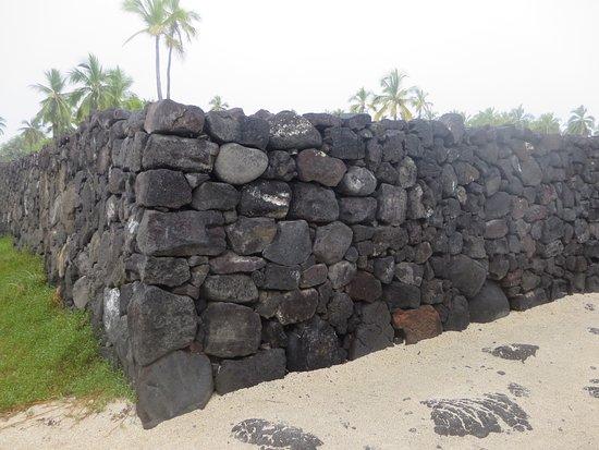 Honaunau, HI: Great Wall