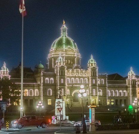 Inner Harbour: Victoria Legislature