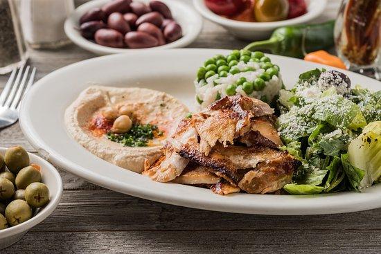 Madison, MS: Chicken Sharwerma Plate