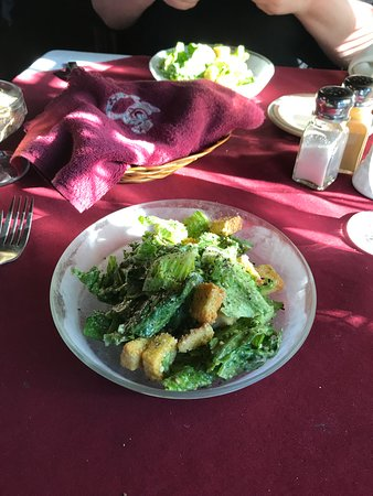 Turin, NY: Caesar's Salad, don't tell him it was me who took it.