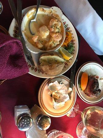 Turin, นิวยอร์ก: My wife's meal