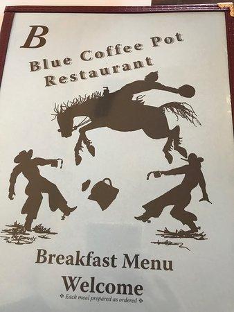 Kayenta, Αριζόνα: Breakfast menu