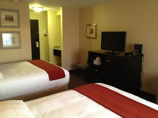 Holiday Inn Express & Suites Phoenix Tempe University: Guest room