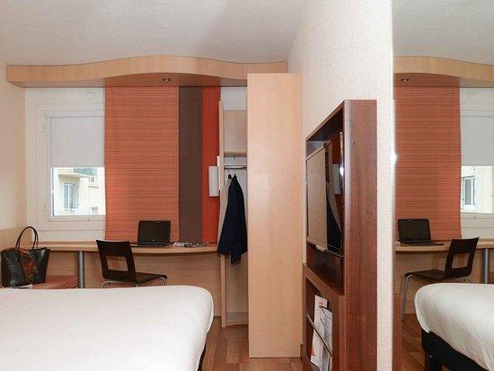 Ibis caen centre frankrig hotel anmeldelser for Media room guest bedroom