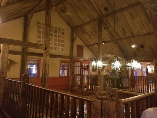The Common Man: Handsomely decorated second floor of the dining room