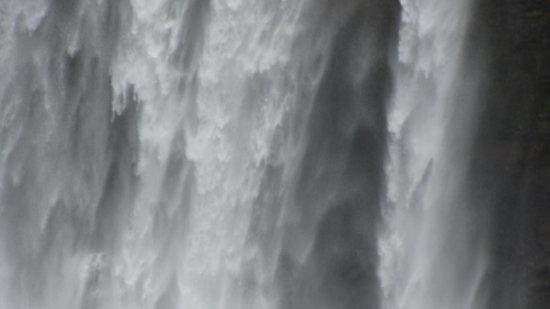 Biobio Region, Chile: Caída del agua