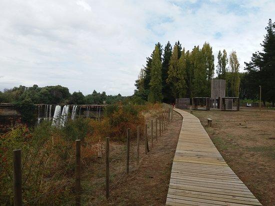 Biobio Region, Chile: Pasarela para personas con movilidad reducida.