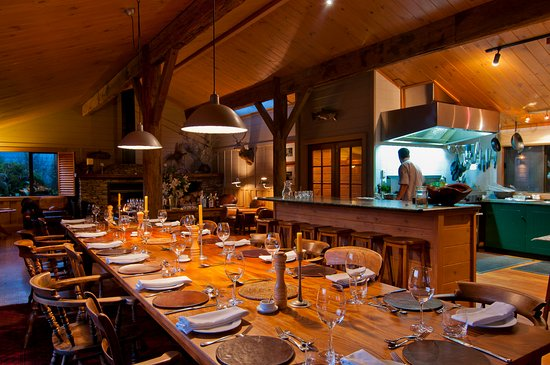 Taharua, Nya Zeeland: Poronui's dining experience with private chef
