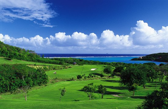 Canouan: Golf course