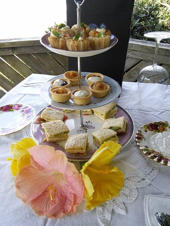 Wellsford, New Zealand: Special High Tea ride overlooking the beach