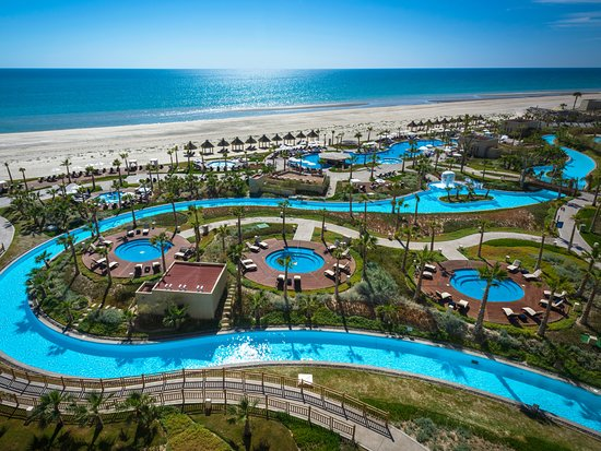 Map of Puerto Penasco Hotels and Attractions on a Puerto Penasco