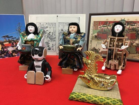 Nagoya Karakuri Robot Experience