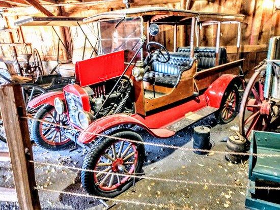 Buffalo Gap, TX: Old Ford Taxi