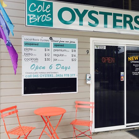 Karuah, Australia: Farm fresh oysters