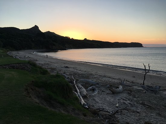 Omapere, نيوزيلندا: Te beach in front of Copthorne Hokianga