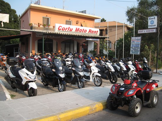 Dassia, Greece: Corfu Moto Rent