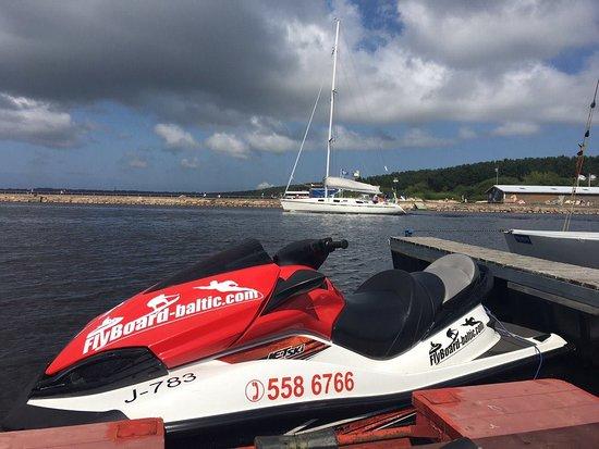 Narva, Estonia: Катание на водном мотоцикле