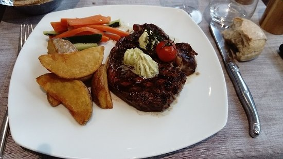 Blotzheim, France: Excellent boeuf tendre