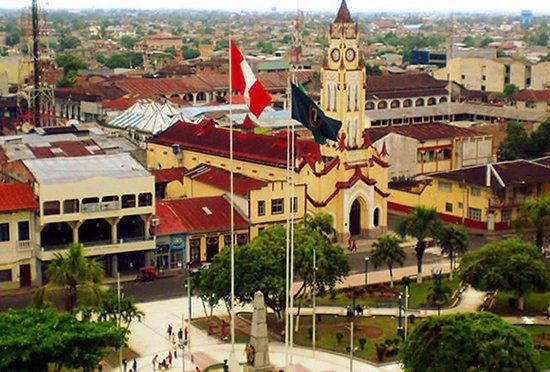 Iquitos paradise la plaza de armas