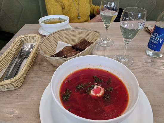 Gusto Blynine: beetroot soup