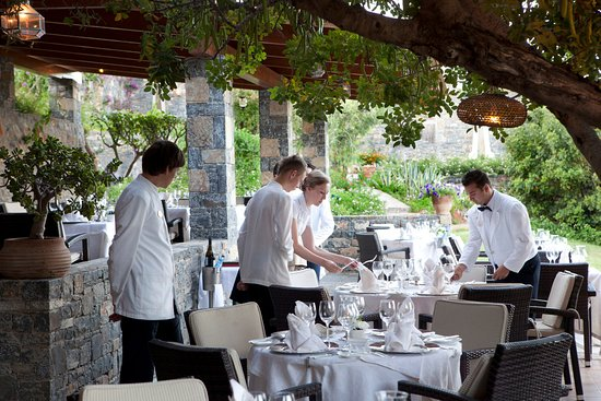 Elounda Mare Relais & Chateaux hotel: Old Mill Restaurant