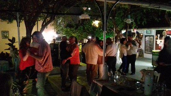 Live Greek Music - Picture of Taverna Garden Samos - TripAdvisor