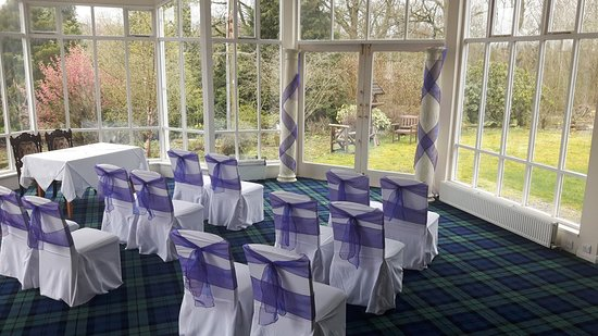 Kirkconnel Hall Hotel: Wedding venue