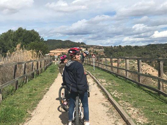 Bicisports Aubanell: Es realmente agradable hacer el recorrido, no tiene complicaciones, eso ayuda a disfrutar dl pai