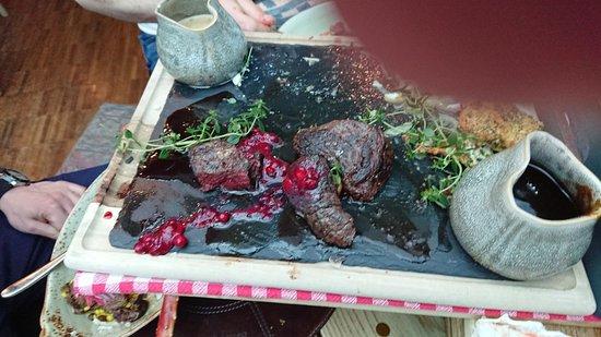 Kitchen & Table Tromsø: whale and reindeer tenderloin
