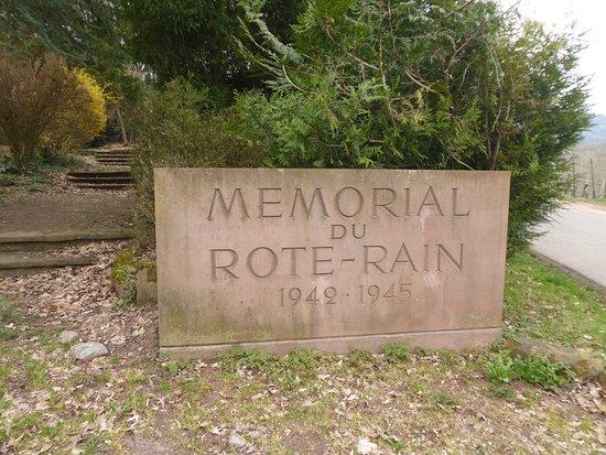 Mémorial Rote-Rain