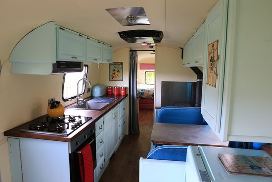 Northlew, UK: Inside the Airstream