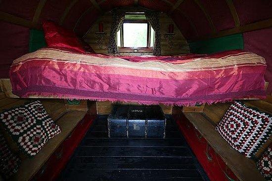 Northlew, UK: Inside our Gypsy Caravan