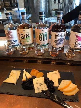 Madison, WI: Cheese and spirits pairing was excellent