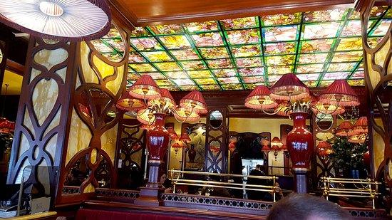 Inside Deco - Picture of Le Grand Cafe Capucines, Paris - TripAdvisor