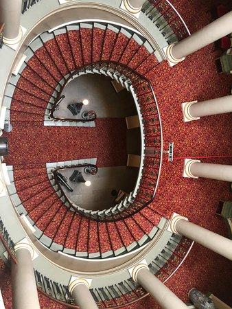 Maybole, UK: staircase
