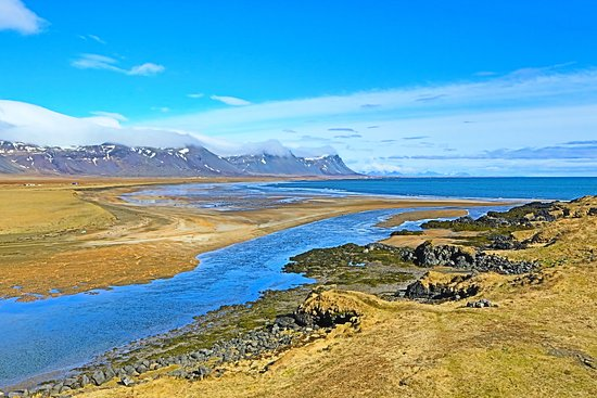 Budir, Iceland: Looking out Bedroom Window, Rm 17