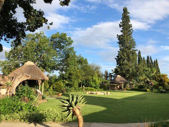 Addo, South Africa: Gartenanlage