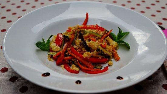 Jurin Podrum: vegetable with kus kus