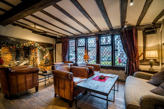 Our cosy & stylish lounge - Picture of The Kings Arms Hotel ...