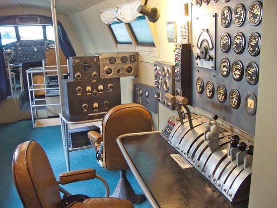 Foynes, Irlanda: Boeing 314 Cockpit
