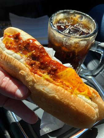 Hot Dog Stand: Hot dogs pair great with homemade root beer!